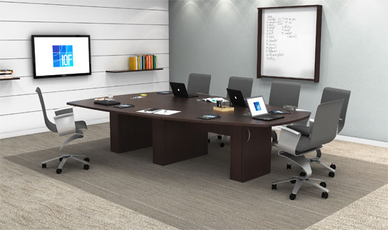 Conference Tables IOF Custom Office Furniture - Gray conference table